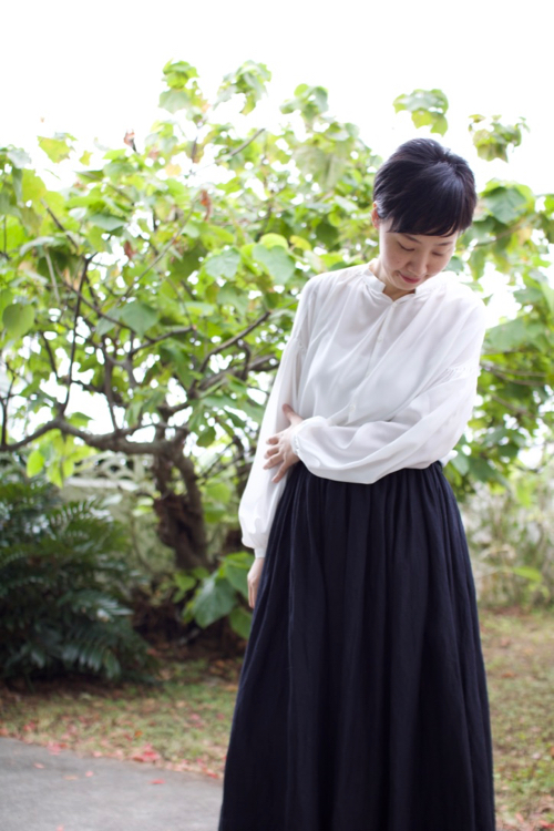 humoresque gather skirt Shoka: 通販