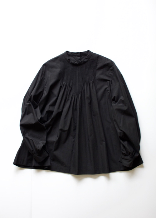 ARTS&SCIENCE<br>Front pintuck blouse - black -