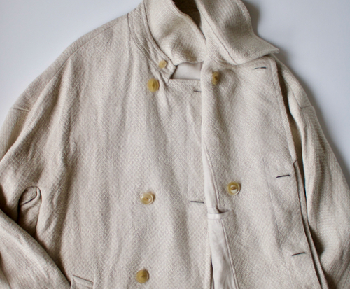 ARTS&SCIENCE Grandpa duster coat natural