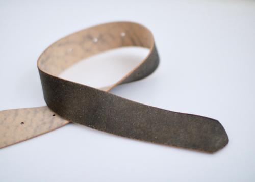 Thin buckle belt M