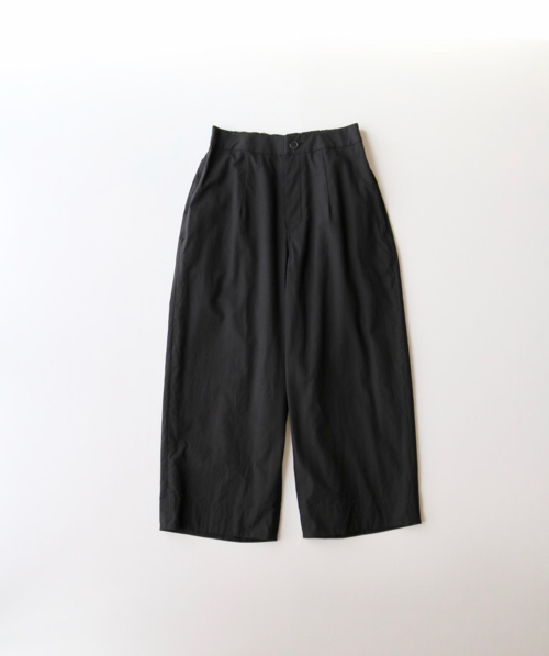 ARTS&SCIENCE         Back yoke gather pants    - deep navy - 通販 アーツ&サイエンス
