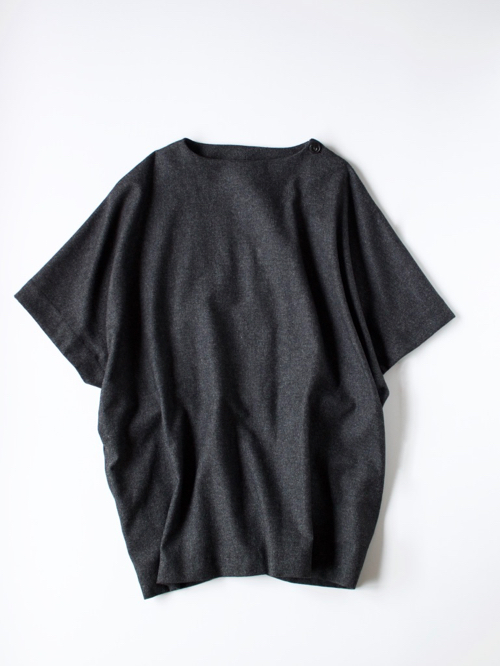 ARTS&SCIENCE  Poncho tunic 2 charcoal top gray