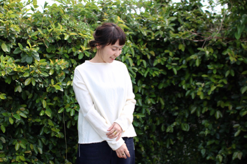 humoresque plain blouse - white -
