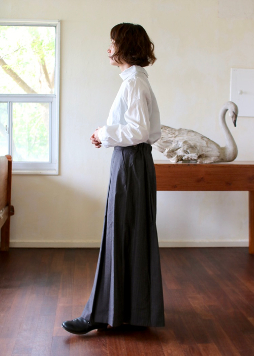 culotte skirt dark brown