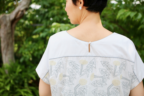 ミナ ペルホネン tanpopo half sleeve ドレス