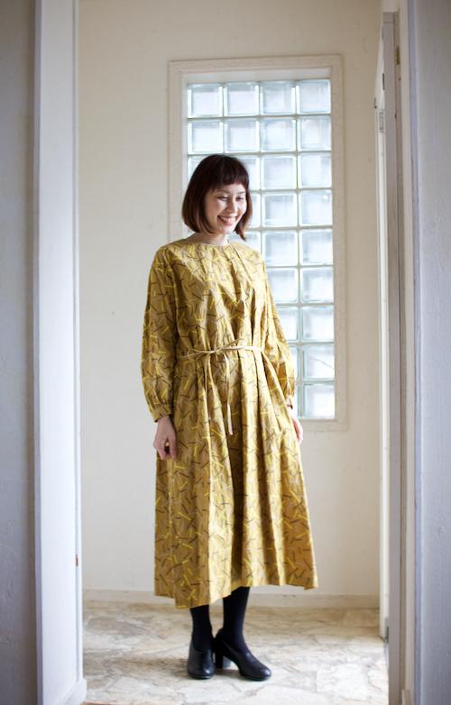 ミナペルホネン light stick ドレス