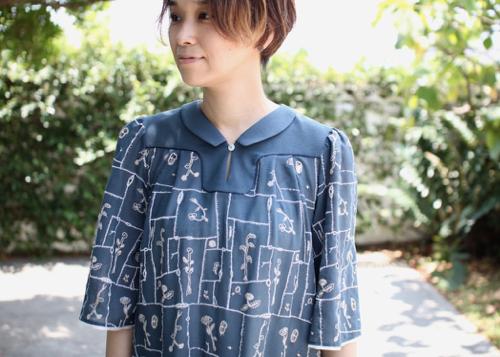 ミナ ペルホネン garden patchwork ドレス Shoka: 通販
