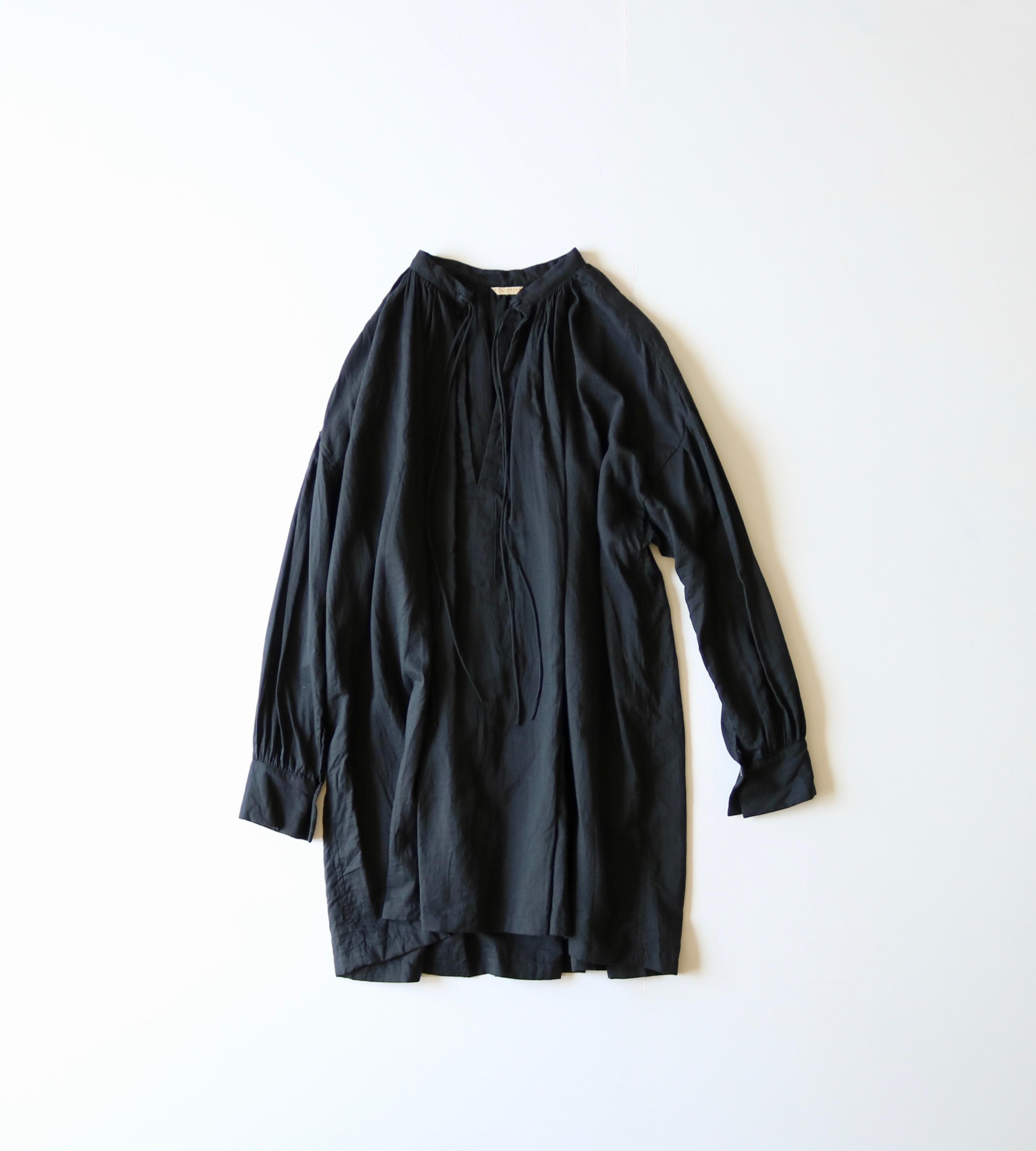 ARTS&SCIENCE   String gather blouse 通販 ブラウス アーツ&サイエンス