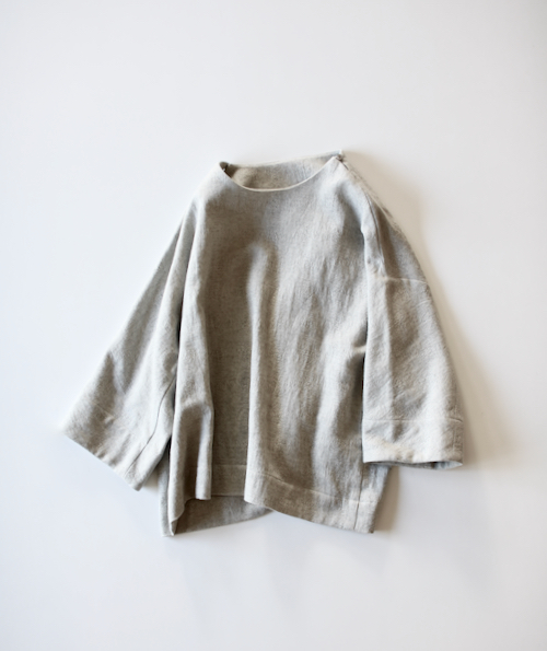 ARTS&SCIENCE New balloon blouse - light top gray -