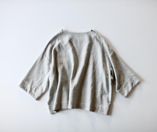 ARTS&SCIENCE New balloon blouse - light top gray -