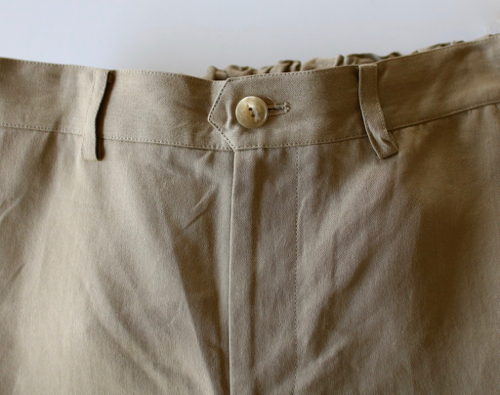 ARTS&SCIENCE   Back gum tapered pants パンツ  通販 アーツ&サイエンス
