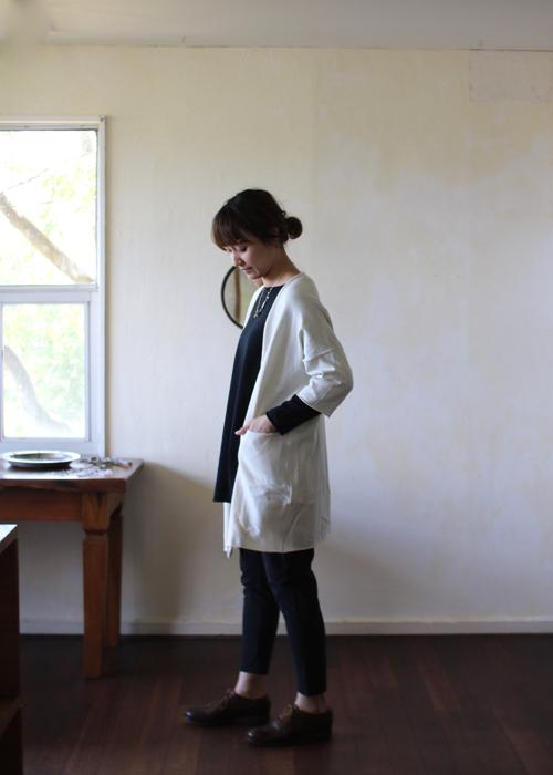 evam eva   dry cotton robe (E191K192) Shoka: 通販
