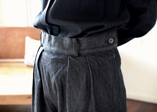 wide pants - 2 color -