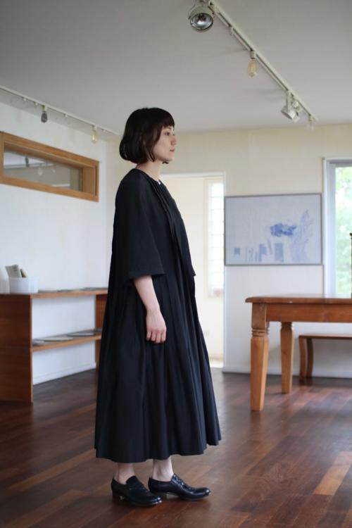 ミナ ペルホネン nube ドレス  mina perhonen 通販 タック