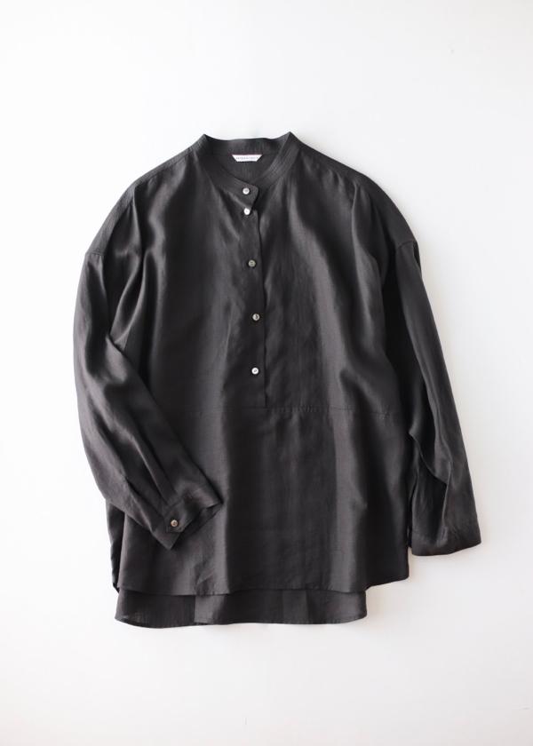 Stitched yoke shirt black