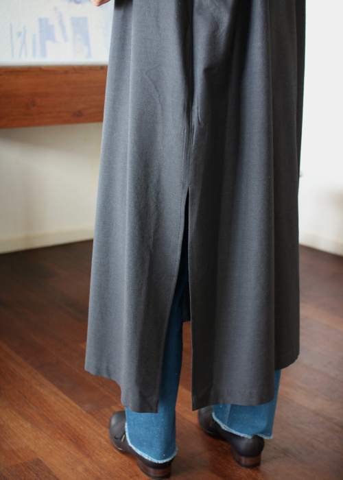 humoresque Shirt dress - gray - Shoka: 通販